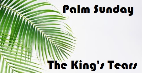 Healing Service – 10-04-19 Easter Palm Friday-Luke 19:28-44- Rev Canon Christopher Allan